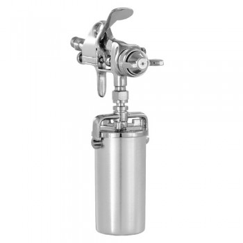 Campbell Hausfeld Spray Gun, Detail with 8-Ounce Canister (DH550000AV) product image left angle